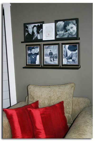 Photo wall bedroom 2
