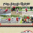 Run Jump Throw | Ann Costen
