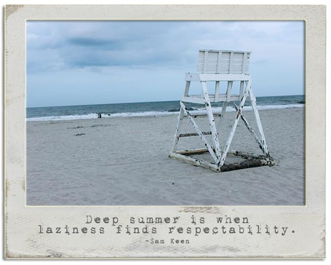 Summer photo write click scrapbook