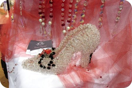 Write click scrapbook connie crystal shoe