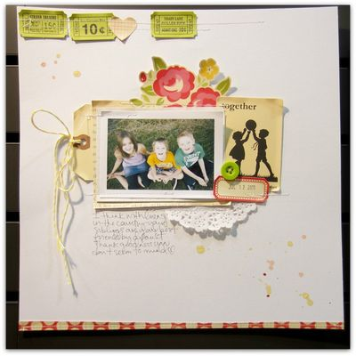 October afternoon marcy write click scrapbook cha