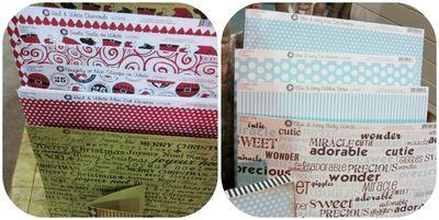 Canvas home basics paper write click scrapbook cha