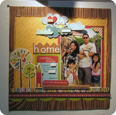 Write click scrapbook bella blvd fall layout cha