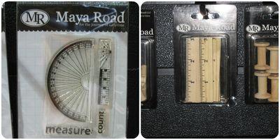 Maya road ruler trend write click scrapbook