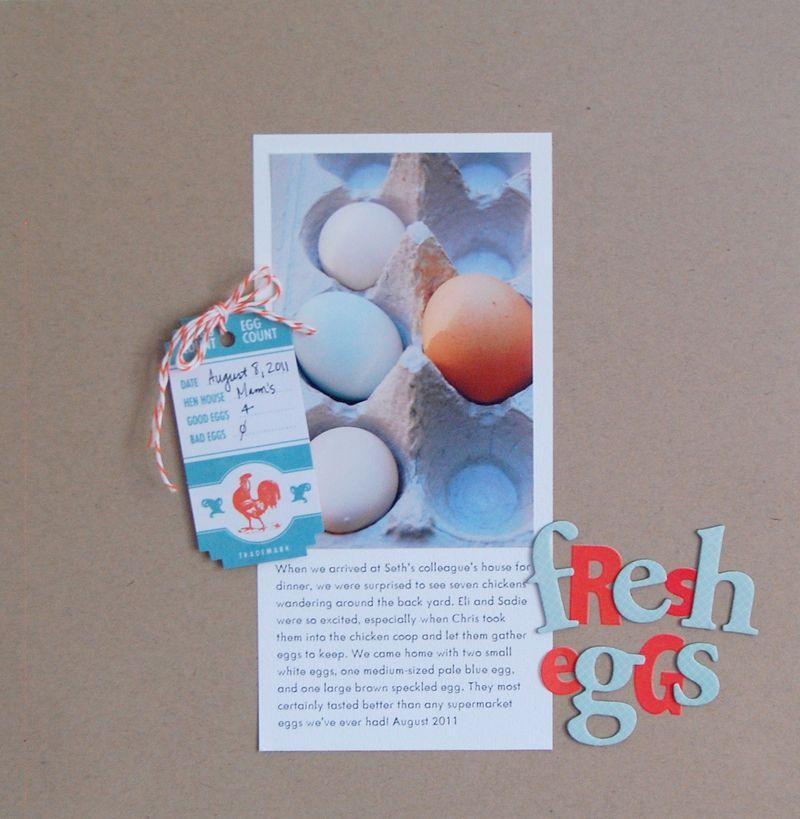 Fresh Eggs - Vivian Masket