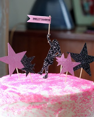 Paula rock star cake