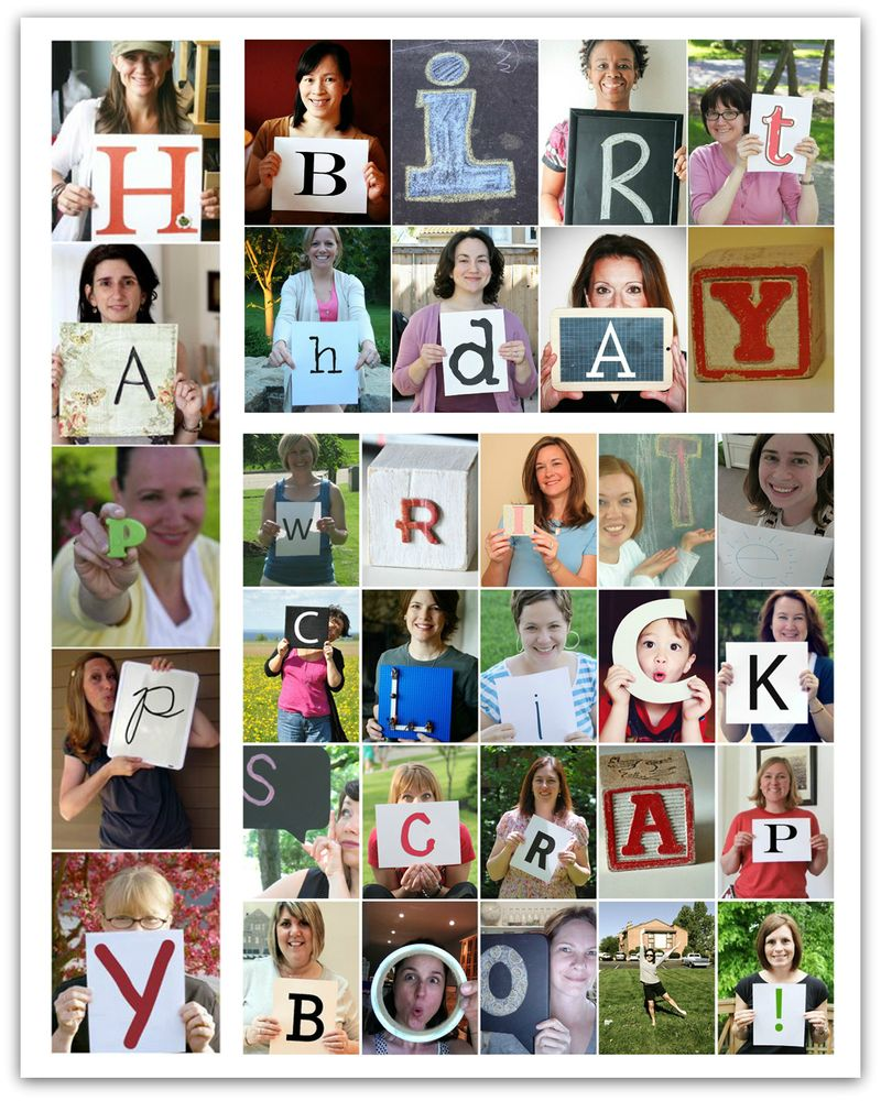 Write click scrapbook celebrates 2 years hooray