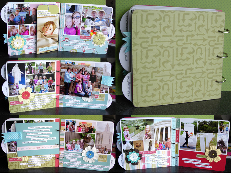 Populaire Scrapping Summer Photos: Travel mini albums - Write. Click. Scrapbook. OW93