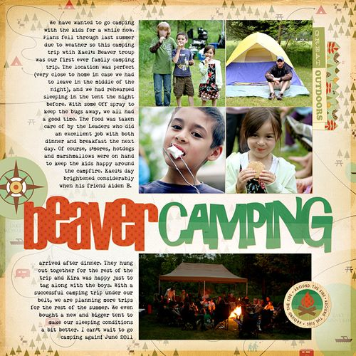Beaver camping
