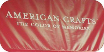 American crafts write click scrapbook cha