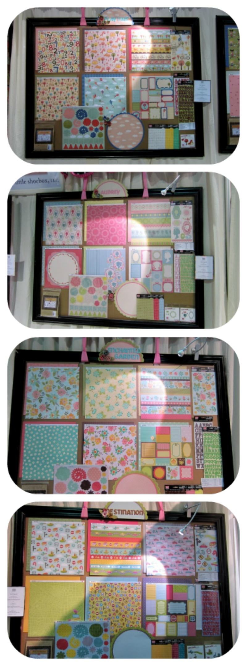 My little shoebox write click scrapbook cha