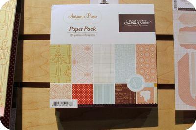 Studio calico mini paper pad write click scrapbook cha