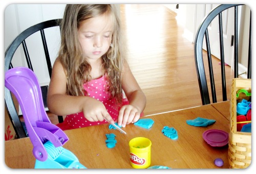 Swimsuit playdough