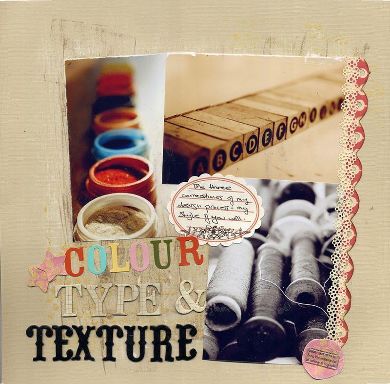 Colourtypetexture