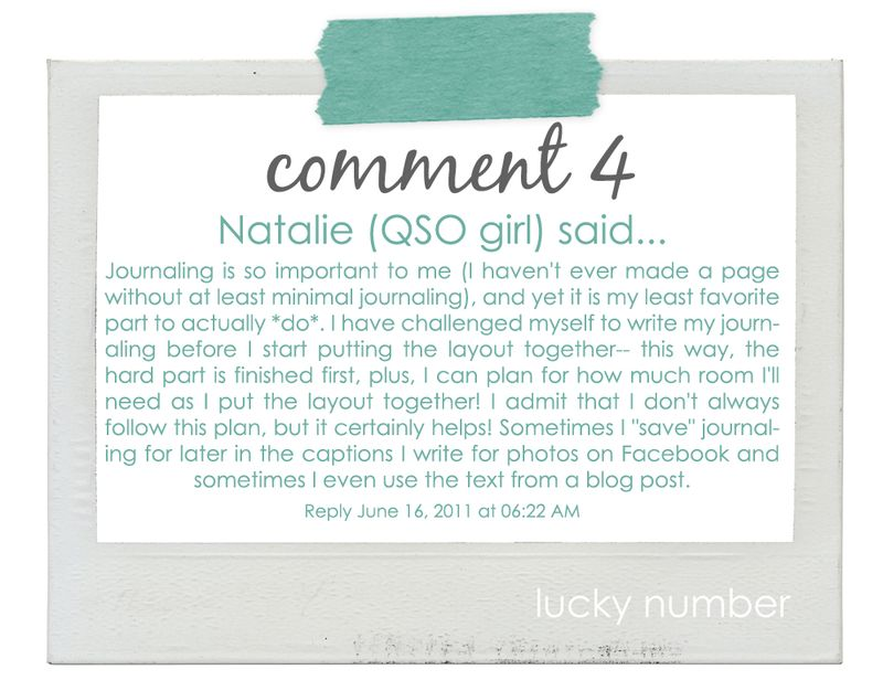 06.16.11 - write click scrapbook lucky number