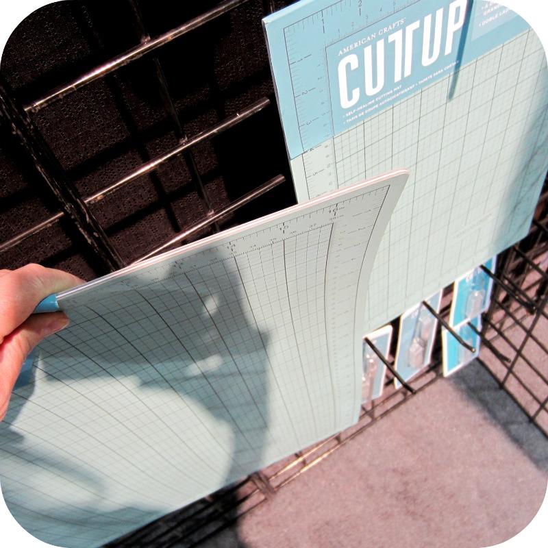 American crafts cutting mat write click scrapbook cha