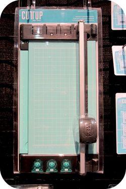 American crafts write click scrapbook trimmer cha