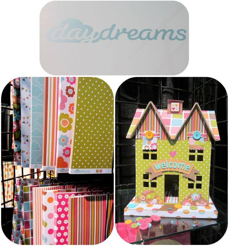American crafts daydream write click scrapbok cha
