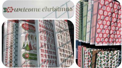 Pebbles welcome christmas write click scrapbok cha