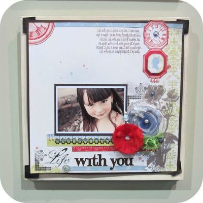Websters example page write click scrapbook cha