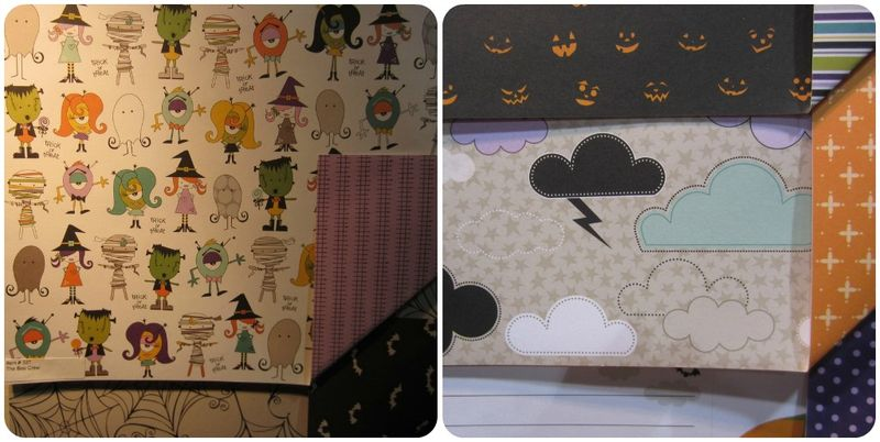 Write click scrapbook halloween line bella blvd cha