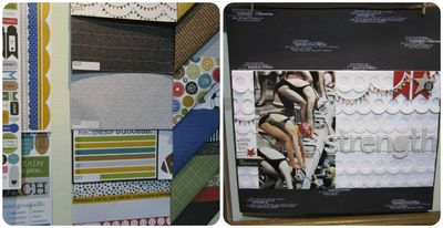 Write click scrapbook bella blvd sports product and layout