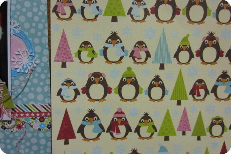Write click scrapbook jillibean christmas penguin