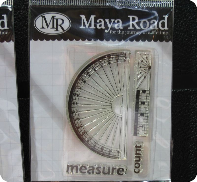 Maya road ruler trend write click scrapbook