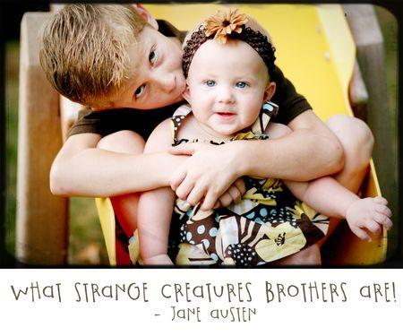 Brothers write click scrapbook