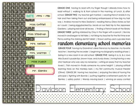 Random elemetary memories ds