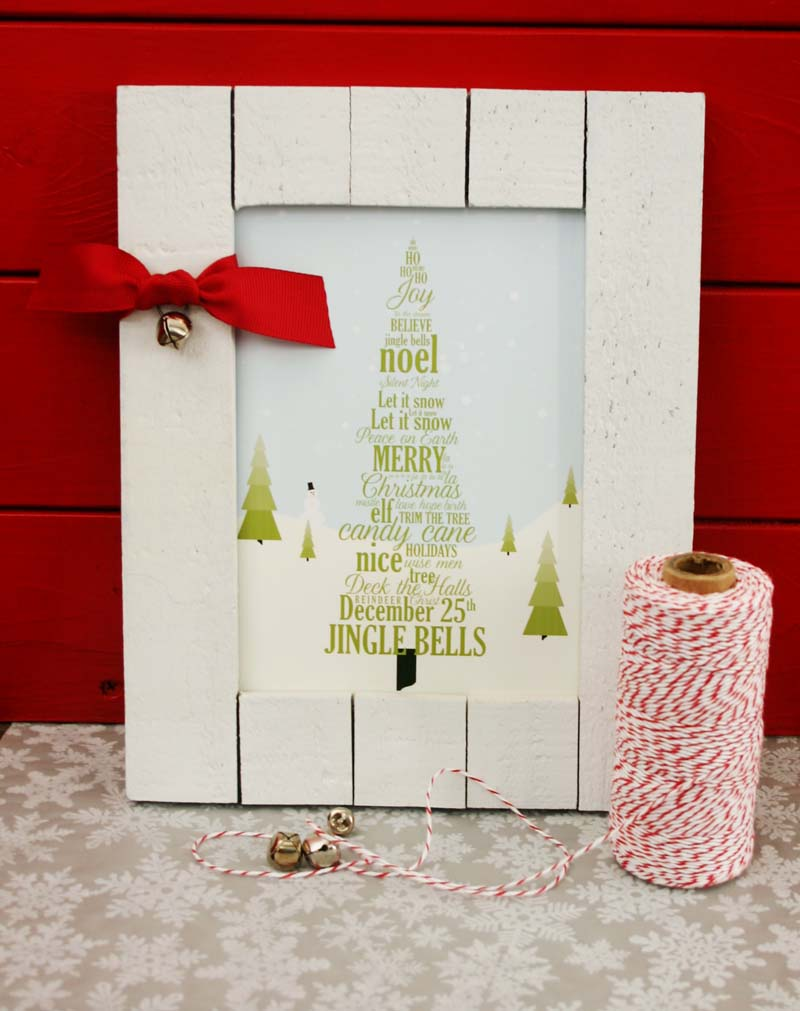 Coverton word tree decor