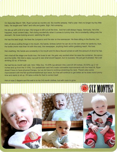 Ryan six months