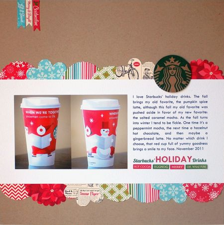 Starbucks Holiday Drinks - Vivian Masket