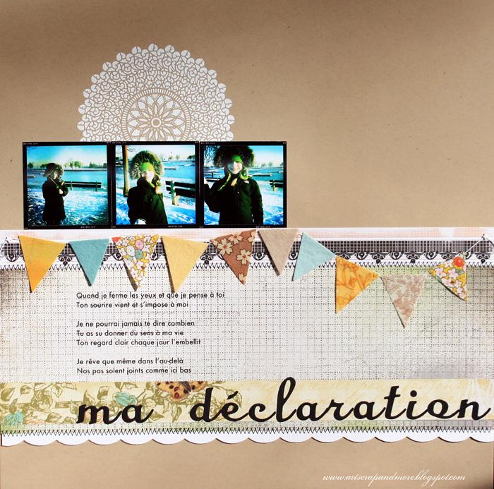 Alex- ma declaration - 12 x 12 L.O