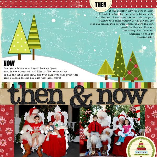 Santa Then & Now