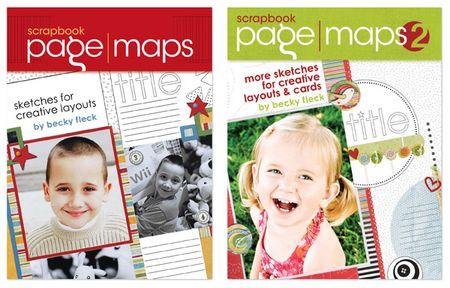 Bookcovers becky fleck pagemaps write click scrapbook