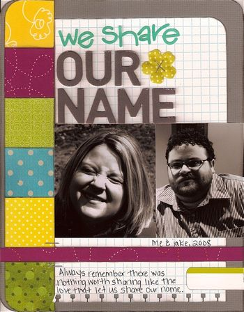 Our Name