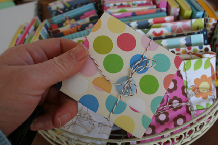 Colorful postit covers