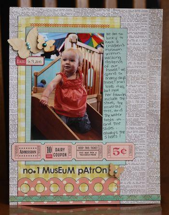 No 1 museum patron