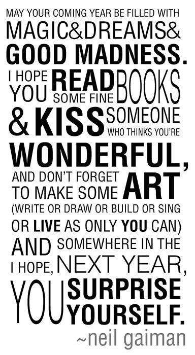 Neil Gaiman NY wishes