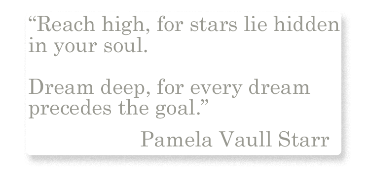 Pamela Vaull Starr Quotation