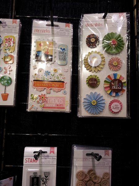 American crafts write click scrapbook new embellies