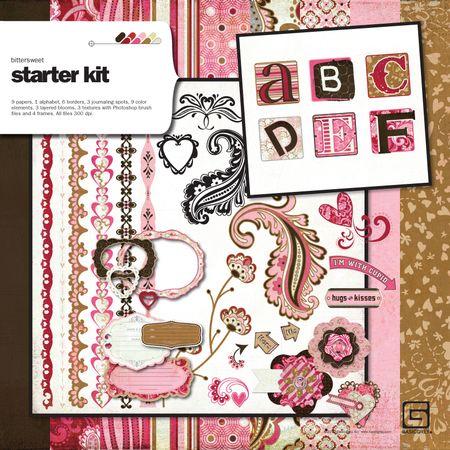 Bittersweet starter kit write click scrapbook giveawayday