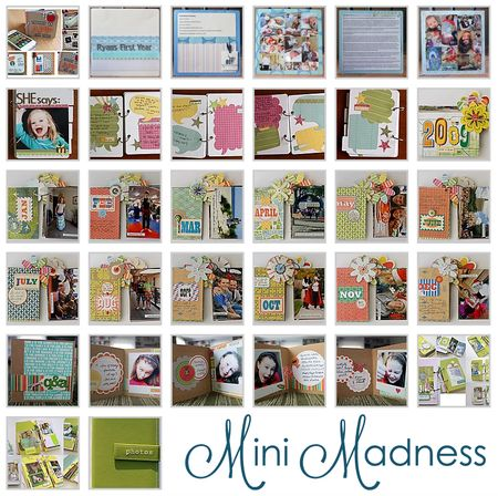 Write click scrapbook mini madness month
