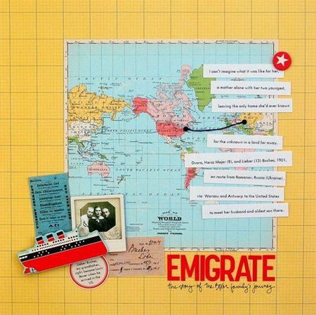 Emigrate Layout - Vivian Masket