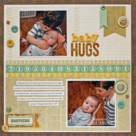 Baby hugs 1