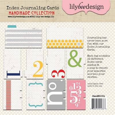 Handmade Index Journaling Cards