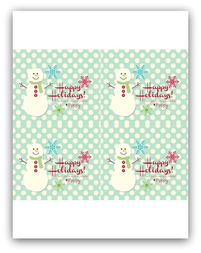 Holiday tags for teacher gifts2