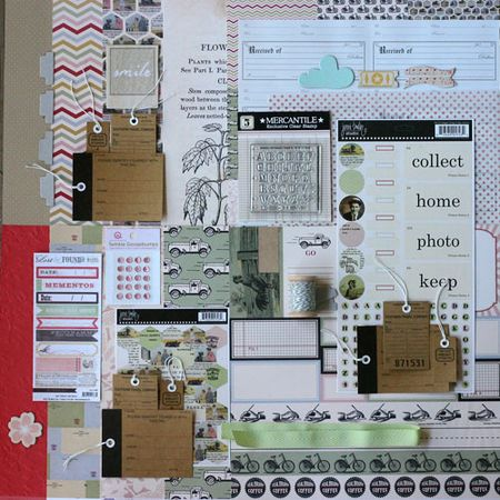 Jenni bowlin march kit write click scrapbook
