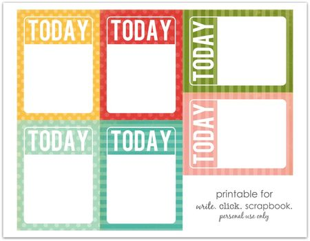 Writeclickscrapbook_projectlife_todaycards_colored